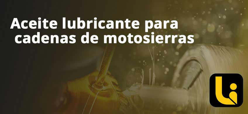 Aceite lubricante para cadenas de motosierras