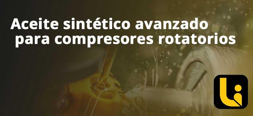 Aceite sintético avanzado para compresores rotatorios